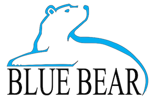 Blue Bear Spring Water by Polar Inc: Logo